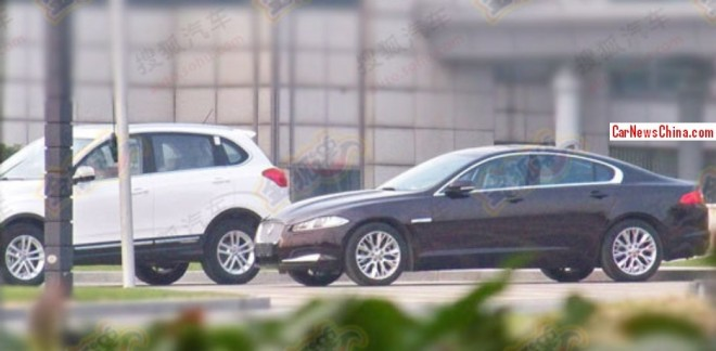 Jaguar XF goes Stretched for China