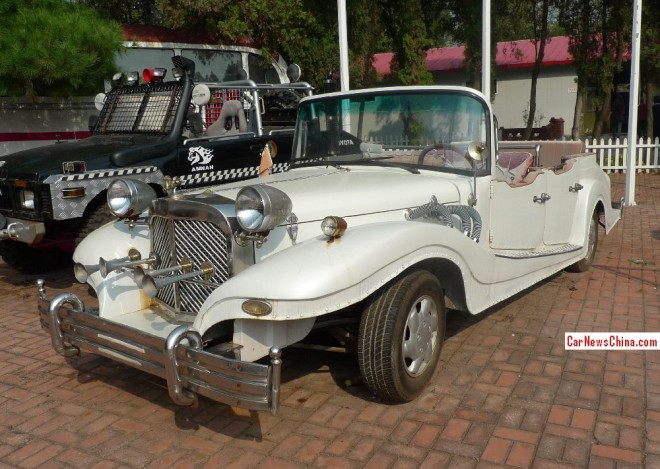 China Car History: the Jinma QJM5022TYN6 Wedding Car