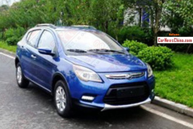 Spy Shots: Lifan X50 SUV in blue in China