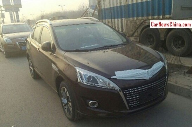 Spy Shots: Luxgen U6 Turbo testing in China