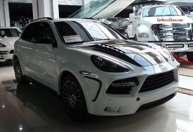 Super Car China Super Spot: Mansory Porsche Cayenne Turbo