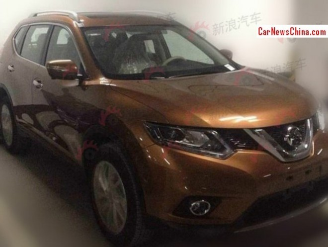 2014 Nissan X-Trail will hit the China car market in March next year