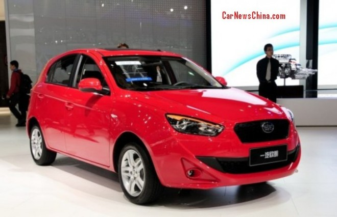 FAW-Oley hatchback launched on the China car market