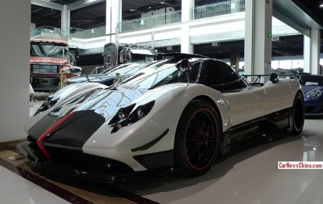 Super Car China Super Spot: Pagani Zonda Cinque 4/5