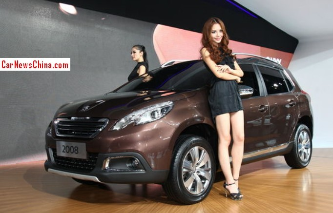 Peugeot 2008 will be launched on the China car market in April 2014 ...