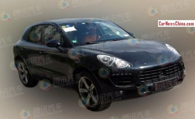 Spy Shots: Porsche Macan seen testing in China