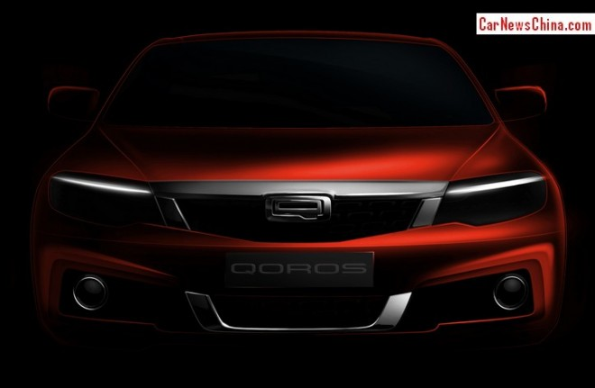 Qoros teases new car for the Chinese auto market