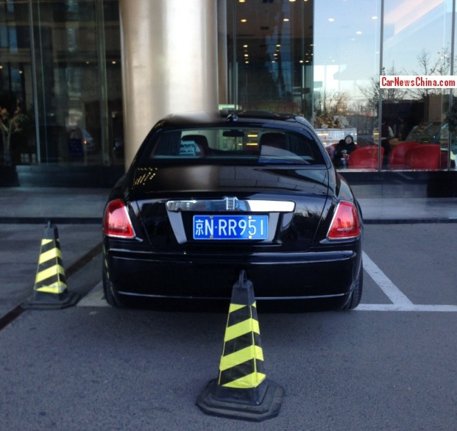 Rolls-Royce Ghost has a License in China