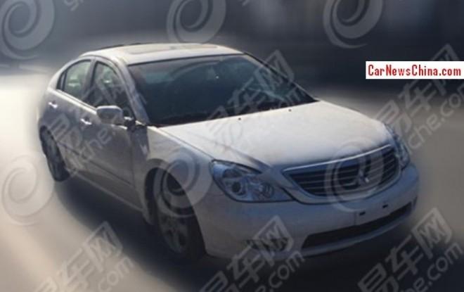 Spy Shots: SouEast V7 sedan testing in China