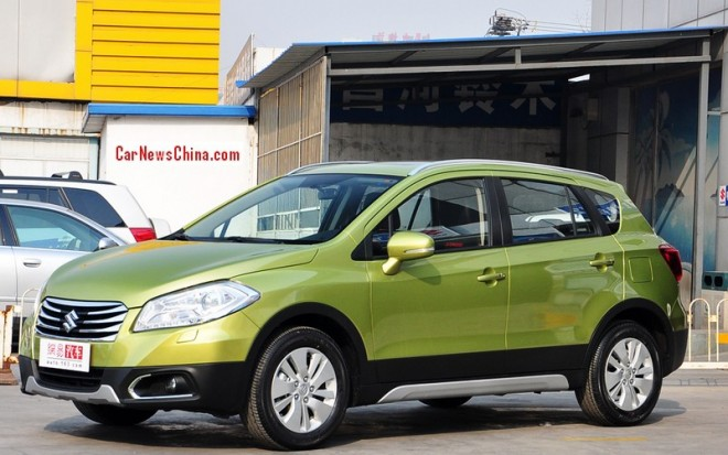 Suzuki S-Cross hits the China car market