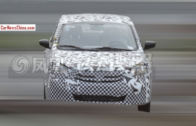 Spy Shots: facelift for the second generation Suzuki Swift sedan in China