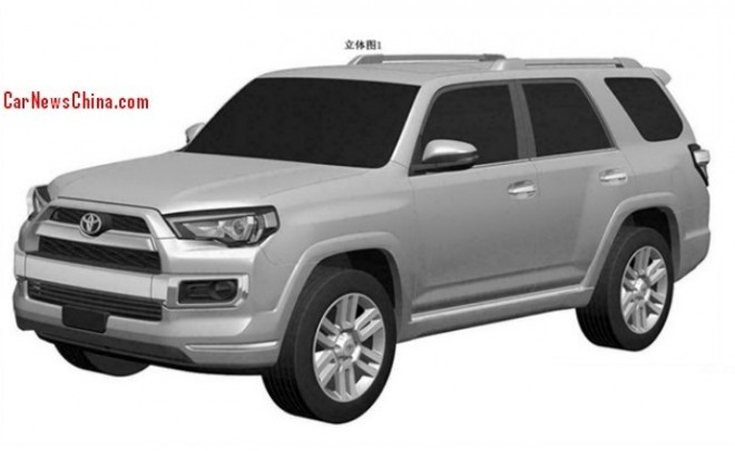 Patent Applied: Toyota 4Runner to come to China