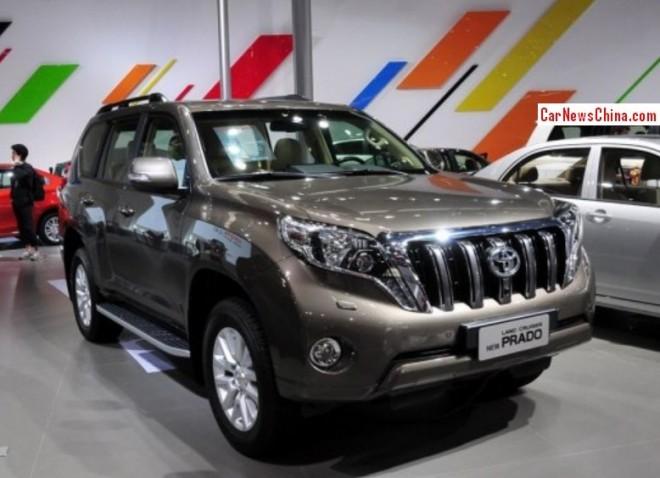 New 2014 Toyota Land Cruiser Prado hits the China car market