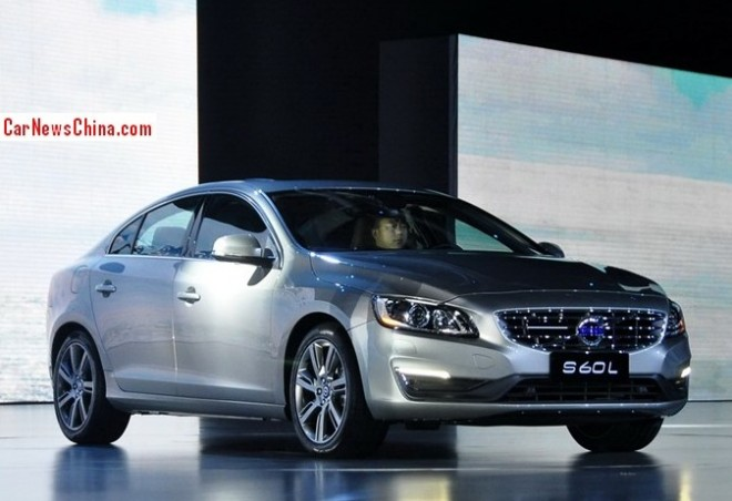 Volvo S60L hits the China car market
