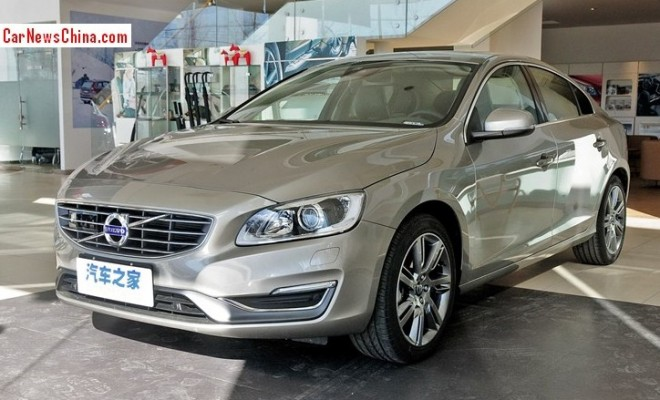 Volvo S60L arrives at the Dealer in China