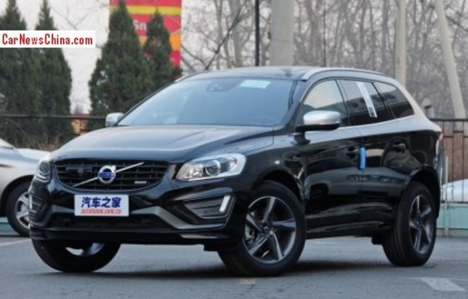Volvo XC60 will be made in China starting in 2014