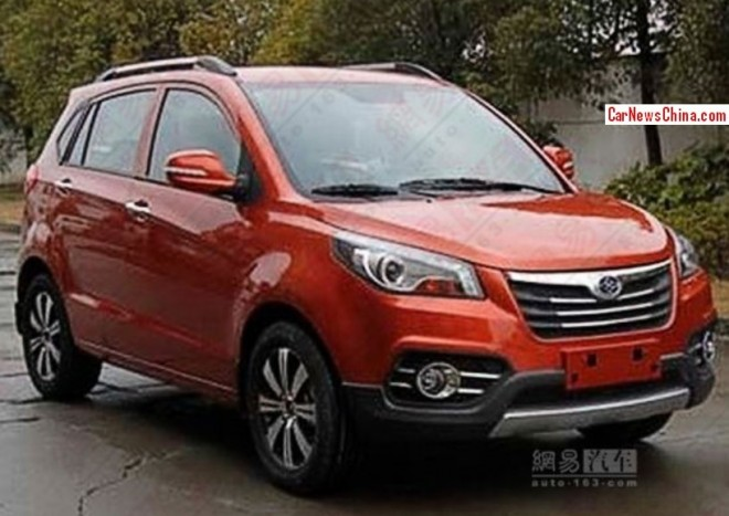 Spy Shots: Weichai Auto Yingzhi S201 SUV