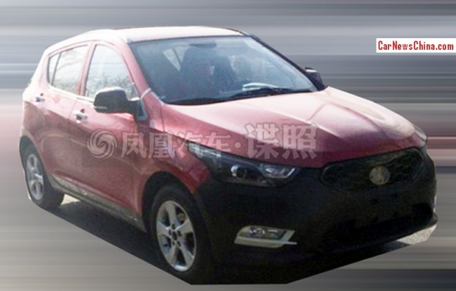 Spy Shots: FAW-Xiali T012 Crossover testing in China