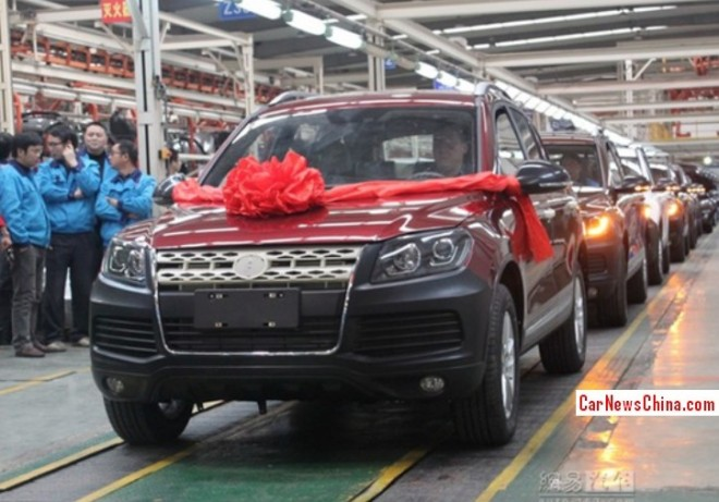 Production of the Yema B60X SUV has started in China