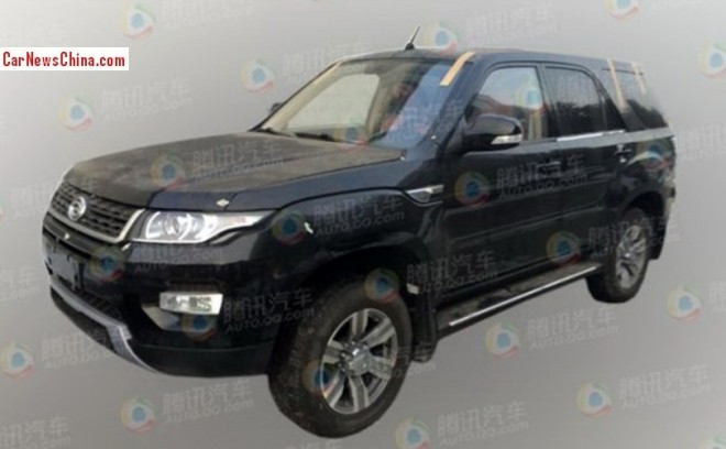 Spy shots: facelifted Gonow Aoseed G5 testing in China