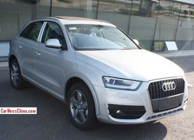 Spy Shots: 1.4 TSI for the Audi Q3 in China