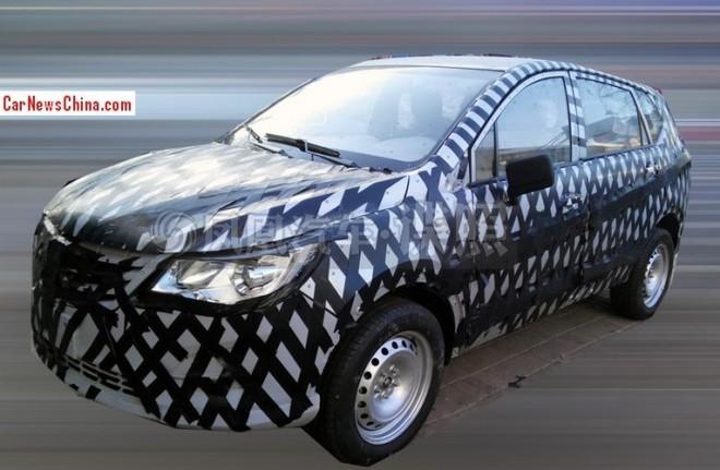 Spy Shots: Baojun SUV testing in China