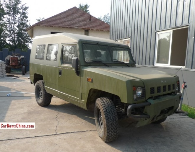 Spotted in China: Beijing Auto BJ2022 two-door military version