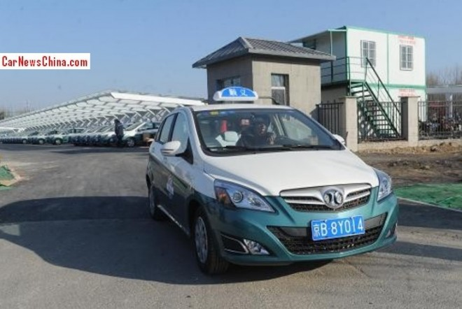 Two hundred new electric taxis for Beijing