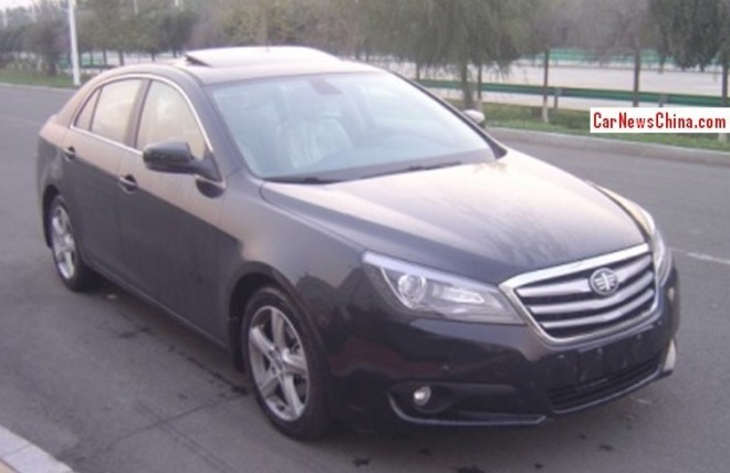 Spy Shots: facelifted Besturn B90 is Ready for the China car market