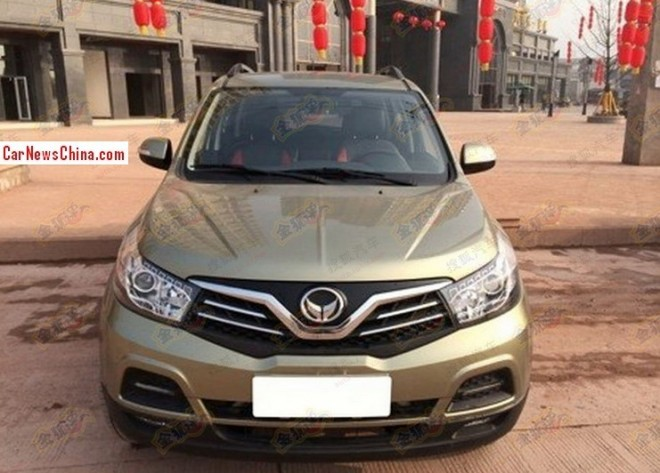 Spy Shots: Beiqi Yinxiang Huansu S2 & S3 are Ready for the China car market