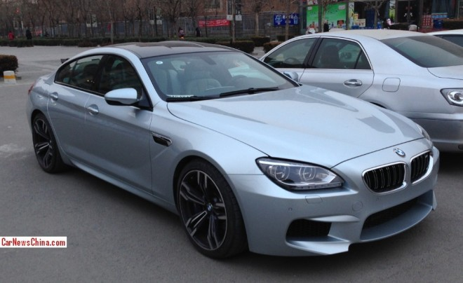 Spotted in China: BMW M6 Gran Coupe