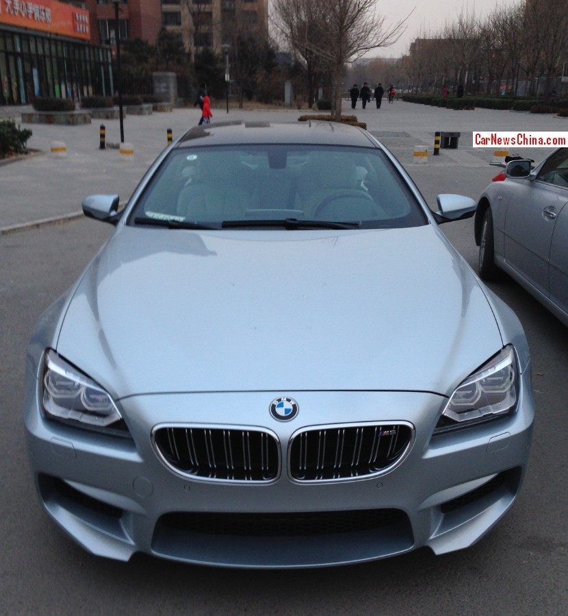 Bmw M6: Spotted In China: BMW M6 Gran Coupe