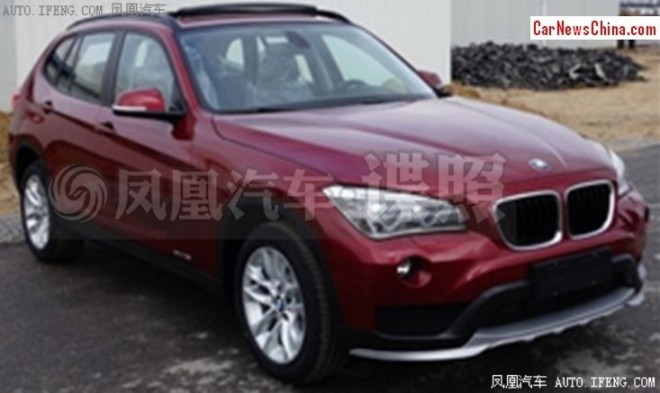 spy Shots: facelifted BMW X1 is Naked in China