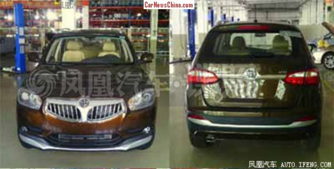 Spy Shots: Brilliance V5 SUV is Naked in China