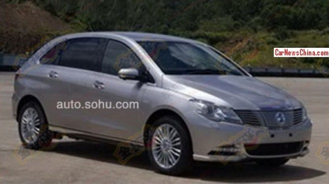 This is the BYD-Daimler Denza EV