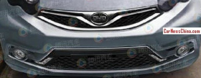 Spy Shots: facelift for the BYD F0 in China