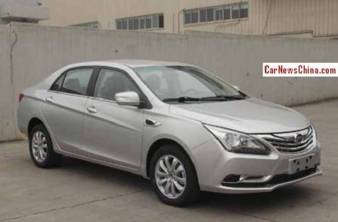 Spy Shots: BYG G5 sedan is almost Ready for the Chinese auto market