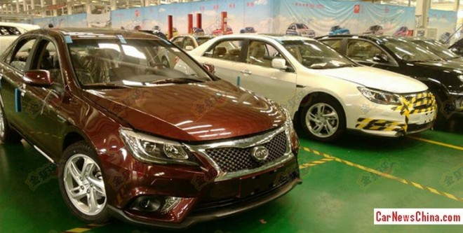 Spy Shots: facelift & 2.0 turbo for the BYD G6