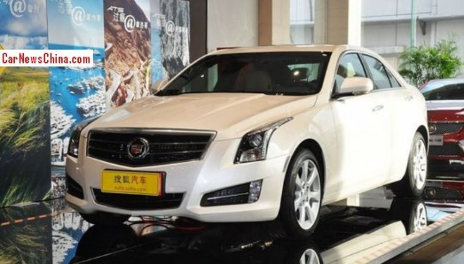 Cadillac ATS will go stretched for China