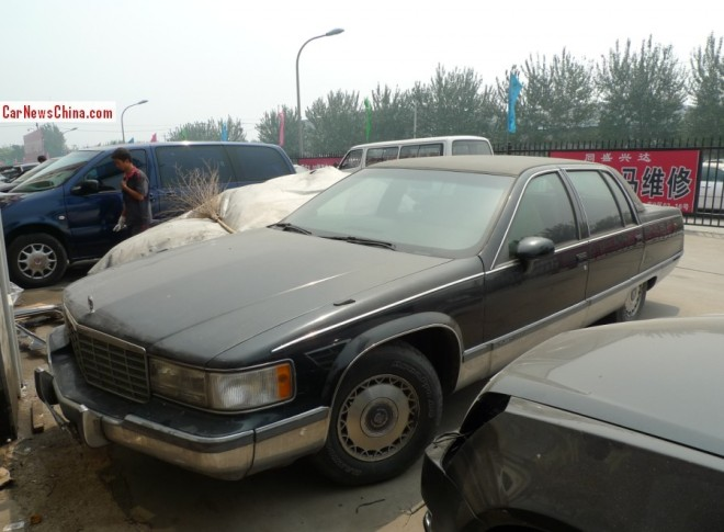 Spotted in China: Cadillac Fleetwood is black on the market