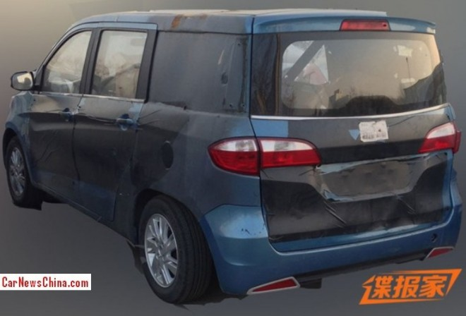 Spy Shots: Changan Ouliwei is going Stretched in China