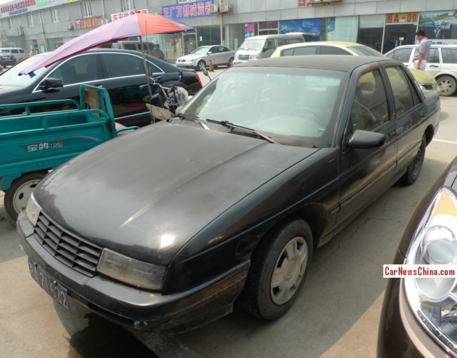 Spotted in China: Chevrolet Corsica LT