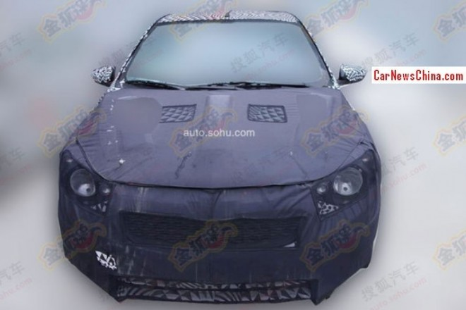 Spy Shots: new Chevrolet Sail sedan testing in China