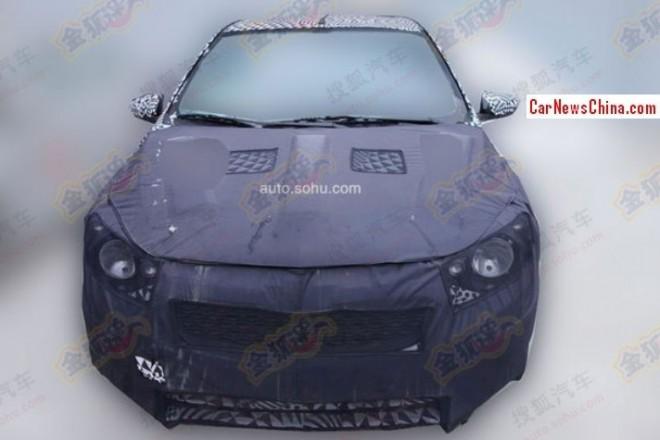 Spy Shots: new Chevrolet Sail sedan testing in China