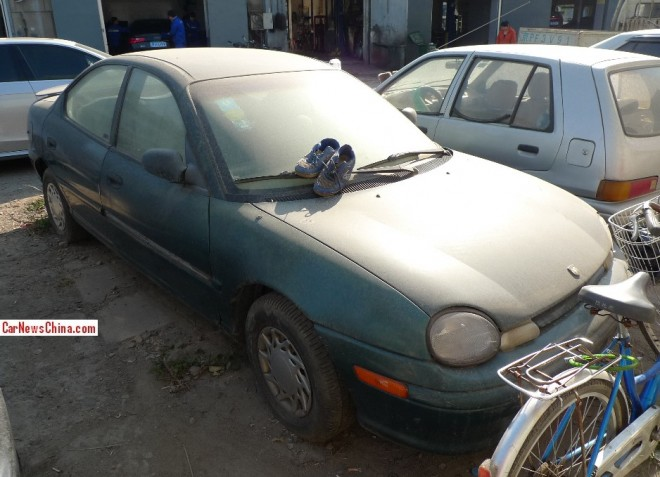 Spotted in China: Chrysler Neon