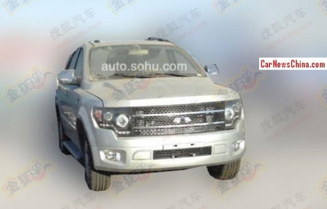 Spy Shots: Jiangnan Chunzhou SUV testing in China