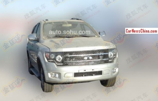 Spy Shots: Jiangnan Chunzhou SUV testing in China