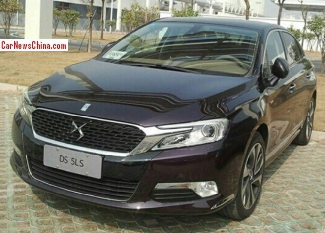 Citroen DS 5LS will be launched on the China car market on March 28