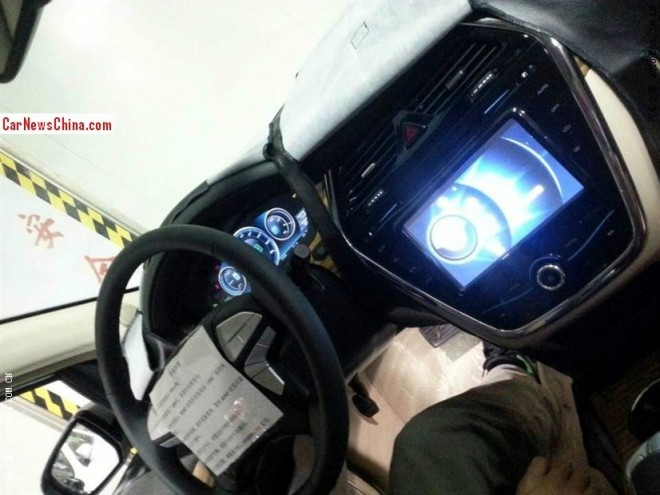 Spy shots: BYD-Daimler Denza EV, the Interior