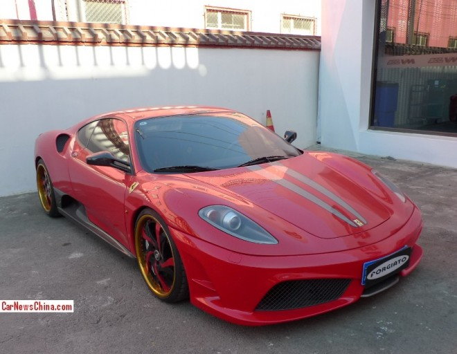 Ferrari F430 Super Car Double Spot in China